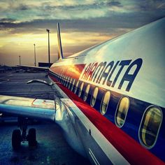 Air Malta, Malta Gozo, Passenger Aircraft, Maltese, Transportation, Past, Pride, Island, Rock