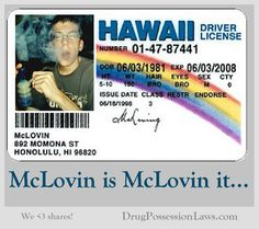 "McLovin    ""SuperBad"""