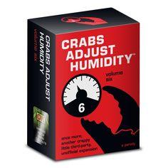 Crabs Adjust Humidity Vol. Six Card Game