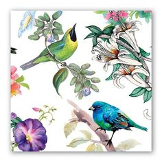 Bird Song Luncheon Napkins