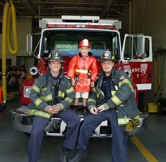 Best Birthday Party ever at the Fire Station