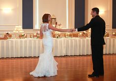 Beautiful couple's first dance at #TheGrand Photo from McHale's Events and Catering collection by Amber Bridges Studios