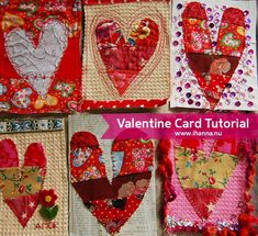How to make a mixed media Valentine Postcard Quilt My Funny Valentine, Valentine Day Crafts, Valentine Heart, Valentines, Fabric Postcards, Fabric Cards, Heart Crafts, Heart Art, Fiber Art