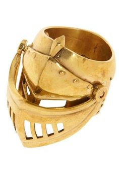 medieval head armor ring by fanny