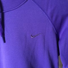 Nike sweatshirt Never worn purple Nike sweatshirt. Size small Nike Tops Sweatshirts & Hoodies
