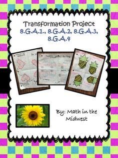 Transformation Project by Math in the Midwest   Teachers Pay Teachers