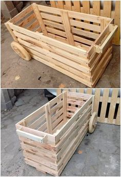 This is the giant in structure wood pallet rolling storage box that has been designed in such a unique way. You can avail the use of the storage box as for the ideal placement of the extra accessories or pieces into the manageable way. You can make it move at any place you want to move.