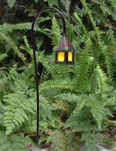 Lovely little lanterns for the garden Garden Whimsy, Gnome Garden, Garden Art, Dream Garden, Garden Plants, Park Lighting, Outdoor Lighting, Outdoor Decor, Outdoor Ideas