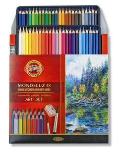 Aquarell Watercolor Colored Pencils Set Koh-I-Noor Mondeluz 3714 72 48 36 Colour Crayon Water Soluble Artist Drawing Painting High Quality Types Of Pencils, Coloured Pencils, Watercolor Painting Techniques, Watercolor Pencils, Koh I Noor, Cool Paper Crafts, Artist Pencils, Color Crayons, Art Supply Stores