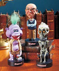 Jeff Dunham™ Talking Head Knockers  #Walter #Peanut #Achmed