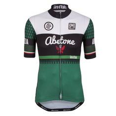 fa091297e Santini Giro d Italia La Spezia - Abetone Cycling Jersey - 2015  Wielrentruien