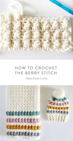 Free Pattern - How to Crochet the Berry Stitch