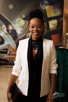Mmabatho Montsho - Google Search Black Lady, African Women, Woman Crush, Black Women, Blazer, Google Search, Film, My Style, Coat