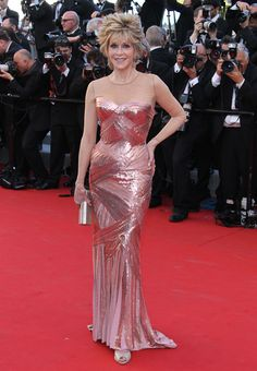 Jane Fonda en Versace