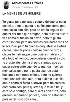 Mucha pero muchaaaa verdad 🙄 L Love You, Sad Love, Top Quotes, Life Quotes, Sad Texts, Love Phrases, God Loves Me, Queen Quotes, Love Images