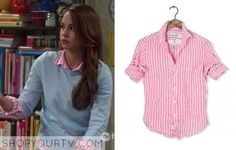 Young & Hungry: Season 2 Episode 9 Sofia's Striped Shirt