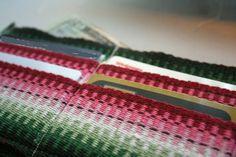 Weave-Away: Free Weaving Project for Ashford Inklette Loom - wallett