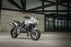 Another one of Triumph's promo images of the 2016 Tiger Sport.