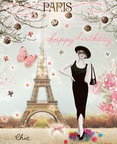 Happy Birthday wishes Happy Birthday Paris, Happy Birthday Quotes, Happy Birthday Images, Happy Birthday Greetings, Birthday Messages, Birthday Pictures, Birthday Fun, Birthday Cards, Happy B Day