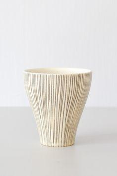 Cup - Black Lines by Koromiko