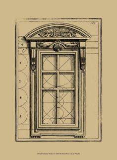 Palladian Window Art Print