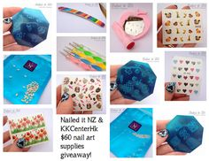 Nailed It NZ: Nail Art Giveaway - $60 of products from KKCenterHk!