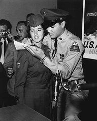 Elvis Presley Signs Autograph For Girl