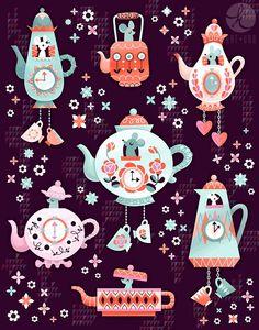 Tea Time! - via www.katuno.com/blog