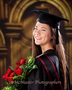 Another graduation photo taken in our studio #yeg #graduation #mcmasterphoto