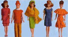 Haken en breien voor Barbie  Dutch patterns for Barbie