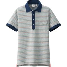 MEN WASHED SHORT SLEEVE POLO SHIRT BY MB | UNIQLO