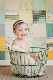 Making your own scrapbook paper backdrop Christina Frost Photography