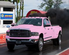 An accessorized pink Ram... the RealTruck ladies love it!