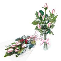 A bouquet of flowers is a timeless gift. And now with Baseball Roses™, you can swing for heart with baseball themed flowers.