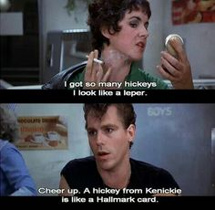 A Hickey from Kenickie...