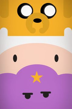 First Jake/Second Finn/Third LSP short for lumpy  space princess these are my three faviorite charcters