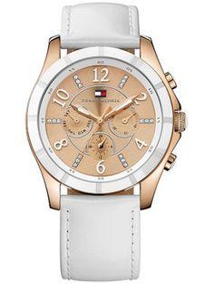 Boutique dos Relógios   Produtos   Relógios   Tommy Hilfiger   REL. MOAB BRANCO GOLD