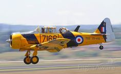 Photo of North American T-6 (ZU-AOZ) ✈ FlightAware South African Air Force, Dream Machine, Royal Air Force, Harvard, Military Aircraft, Airplanes, Wwii, Fighter Jets, Cool Pictures
