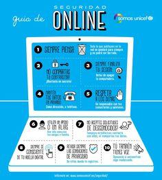 Guía de seguridad on line Social Media Safety, Narrativa Digital, Computer Basics, Teaching Plan, Ap Spanish, Internet Safety, Digital Citizenship, Computer Security, Interactive Activities