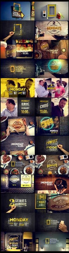 NAT GEO FOOD PROMO on Behance