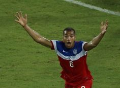 The moment John Anthony Brooks realised he scored the winner for the USA against Ghana in a win at the 2014 FIFA World Cup finals. World Cup Groups, Match Schedule, Sport Online, Soccer Match, World Cup Final, Soccer Games, Fifa World Cup, New Orleans, Weather