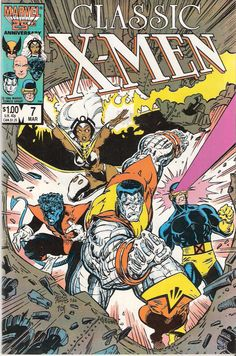 X-Men by Arthur Adams ~ I loved these as a kid. Also the Uncanny X-Men series.