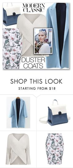 """""""Long Layers: Duster Coats (Work Wear)"""" by jecakns ❤ liked on Polyvore featuring Jil Sander"""