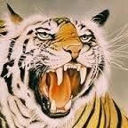 Image result for japanese paintings with tigers