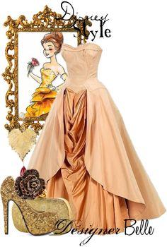 To complete: princess dress A pattern, peach taffeta, peach broadcloth, peach tulle, peach ribbon, peach sheer fabric