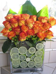 There's nothing like a home with beautiful & creative fresh flowers!!