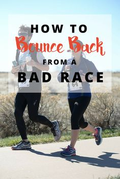 Bad race? Learn how to turn a bad performance into a great learning experience - leading to a GREAT next race. (includes free race report template)