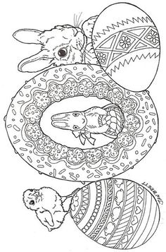 Easter Eggs Coloring Sheet Is An Easy Craft Kids Can Have Fun Doing