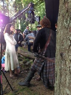 #Outlander BTS pic from @TimeWarnerCable