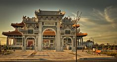 Melbourne Daily Photo – The entrance to the Melbourne Buddhist Temple, Footscray Melbourne Australia